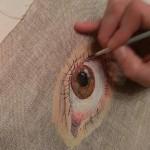 Oeil marron démo