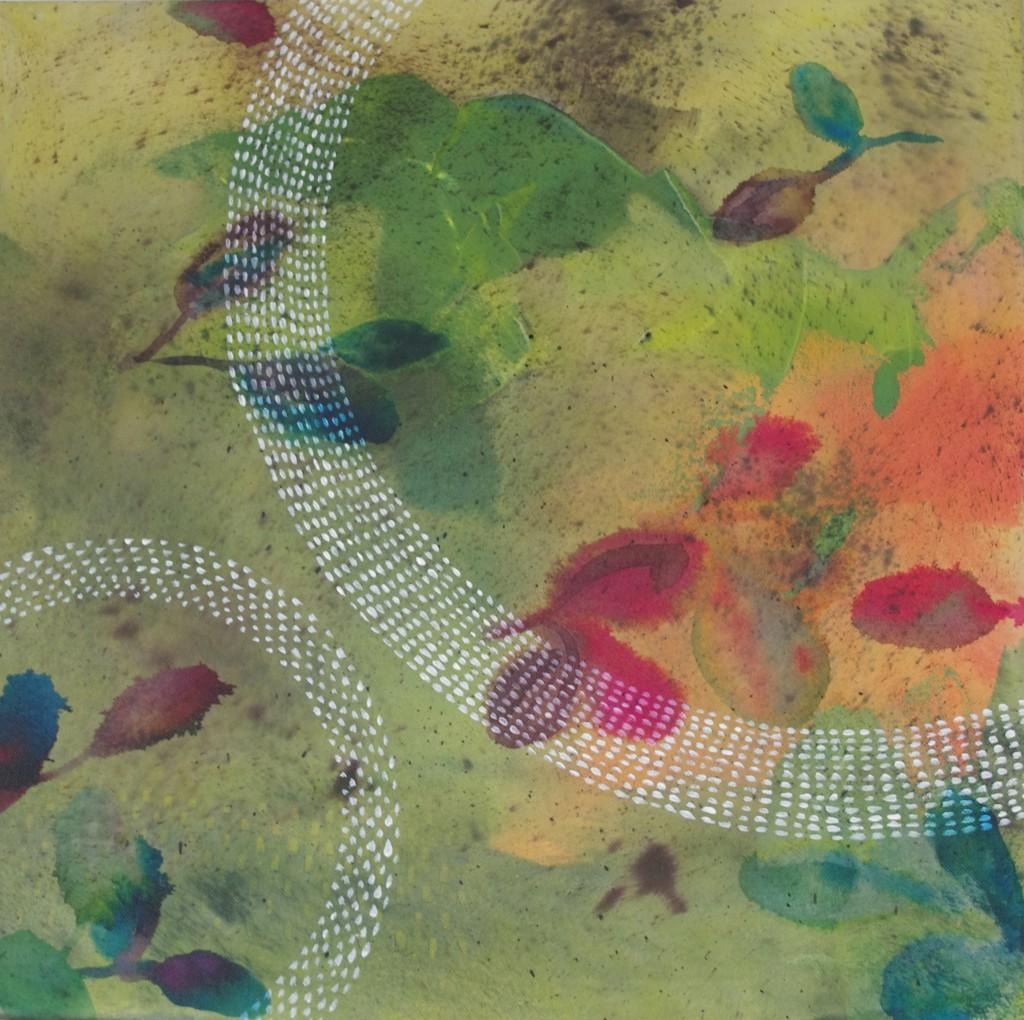 cercles et feuilles  u2013 carole collaudin