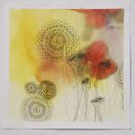 Oreilles fleurs mandalas