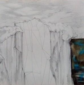 Paysage de falaises