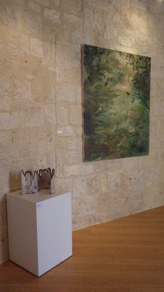 Exposition de Carole Collaudin au château de Pujols